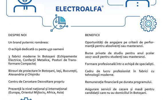 Afis internship Electroalfa 2017